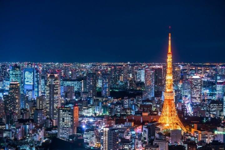 TOKYO (Menara Tokyo & Sekitar)
