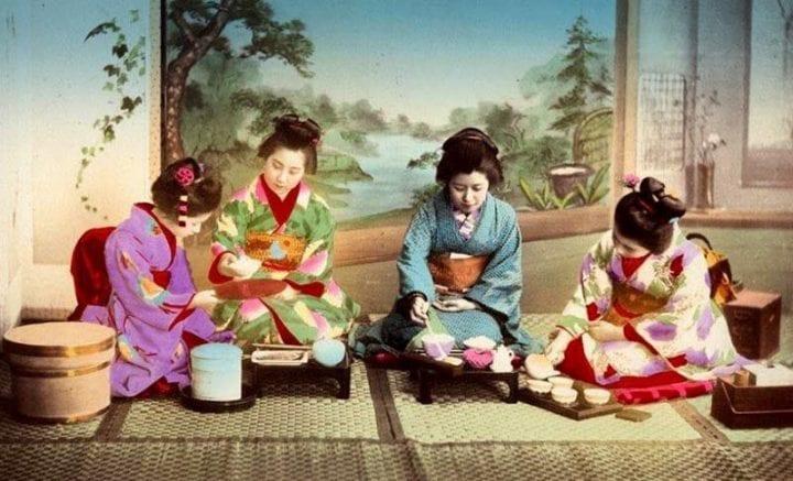 Mencoba kebudayaan Jepang