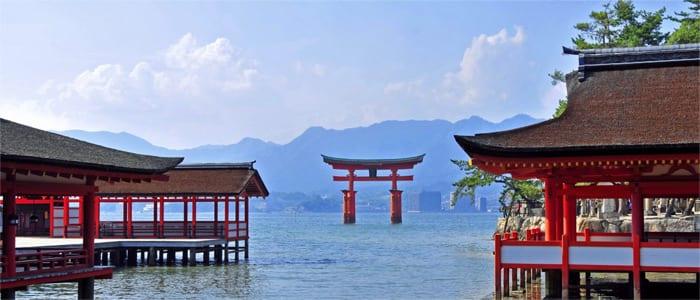 Kuil Shinto, Kuil Buddha, Taman