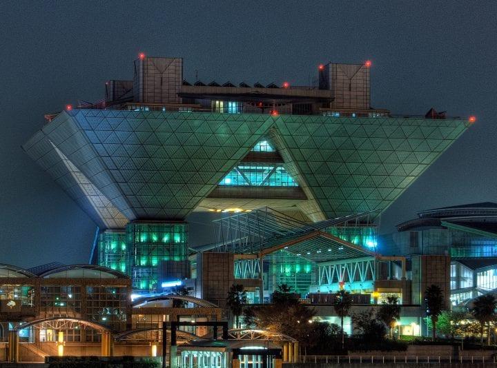 Arsitektur Jepang yang menjadi pusat perhatian
