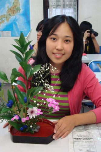 Kegiatan Belajar - Merangkai Bunga