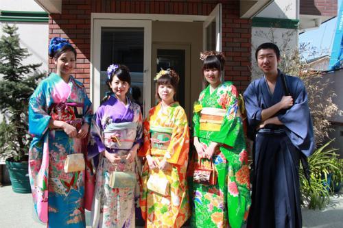 Kegiatan Sekolah - Pakaian Jepang
